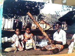 MADAGASCAR JOUEUR DE VALIHA MUSICISTA  V1975 GN20993 - Madagascar