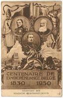 Belgique Centenaire De L'Indépendance Belge 1830/1930 Roi Rois - CPA - Famous People