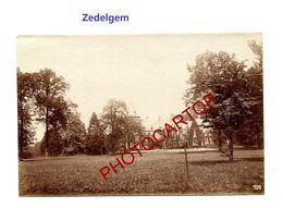 ZEDELGEM-Schloss-Chateau-PHOTO Mate Allemande-Cliche 709-Inf. Regt.182-GUERRE 14-18-1 WK-Militaria- - Zedelgem