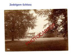 ZEDELGEM-Schloss-Chateau-PHOTO Mate Allemande-Cliche 756-Inf. Regt.182-GUERRE 14-18-1 WK-Militaria- - Zedelgem