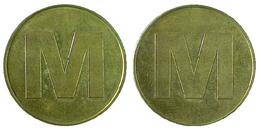 03477 GETTONE JETON TOKEN SWITZERLAND ADVERTISING SUPERMARKET MIGROS BRONZE - Tokens & Medals