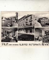 SALO - LAGO DI GARDA   ALBERGO RISTORANTE  BENACO - Altre Città