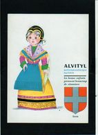 """Collection Costumes Régionaux Publicité Pharmaceutique.découpi,chromo .Découpage Prédécoupé Région """"Savoie"""" - Children"""