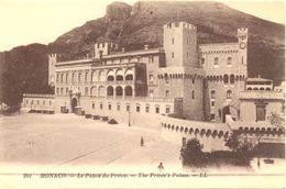 Monaco - Le Palais Du Prince - Levy Et Neurdein Réunis LL - Nº 201 - 4453 - Palacio Del Príncipe