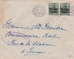Belgien / Brief Von Brüssel (br2877) - Besetzungen 1914-18