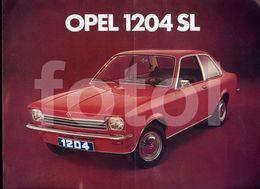 RARE OPEL KADETT 1204 SL GM ORIGINAL CAR LEAFLET BROCHURE CATALOG PORTUGUESE EDITION PORTUGAL - Sin Clasificación