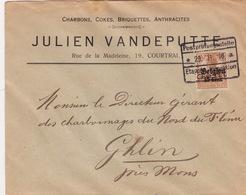 Belgien / Brief Von Gent (br2886) - Occupazione 1914 – 18