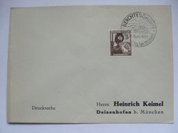 GERMANY 1937 Cover With Berchtesgaden Sonderstempel -  Geburtstag Des Fuhrers - Germany