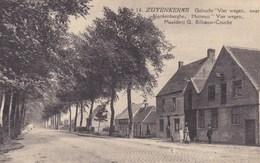 Zuienkerke, Zuyenkerke, Gehucht Vier Wegen Naar Blankenberghe (pk42390) - Zuienkerke