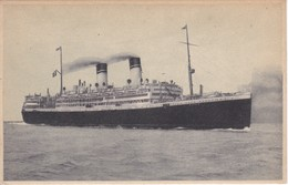 POSTAL DEL BARCO P. Fe DUILIO  (BARCO-SHIP) MEDITERRANEO - SUD AMERICA EXPRESS - Comercio