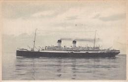 POSTAL DEL BARCO S/S ROMA  (BARCO-SHIP) MEDITERRANEO - NORD AMERICA EXPRESS - Comercio