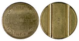 01994 GETTONE JETON TOKEN ADVERTISING GOLF EQUIPMENT WWW.RANGEKING  RANGEMAXX - Netherland