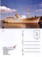 "Ship Postcards - Passenger   Ship "" Bergensfjord      ""    Read Description - Unclassified"