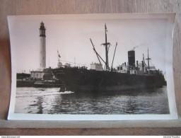 35 - Port De Dunkerque: Le Phare. Navire Quittant Le Port/ Editions Gorlier Fre & Ses - Lille - Dunkerque