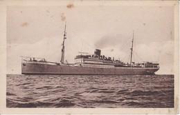 POSTAL DEL BARCO VAPOR TEIDE LINEA FERNANDO POO (BARCO-SHIP) TRASMEDITERRANEA - Comercio