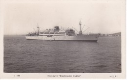 POSTAL DEL BARCO MOTONAVE EXPLORADOR IRADIER  (BARCO-SHIP) J.V.B. - Comercio