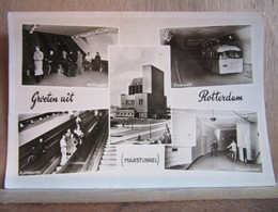 Rotterdam - Grdeten Uit: Maastunnel/ Gebr. Spanjersberg - Rotterdam