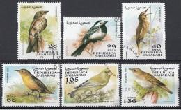 Saharaui 1997 Birds Uccelli  Serie Completa CTO - Sparrows