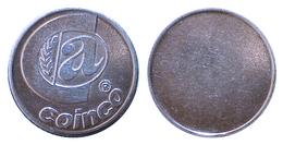 01741 GETTONE JETON TOKEN NEW ZEALAND ADVERTISING VENDING CONTROL MACHINE COINCO - Tokens & Medals