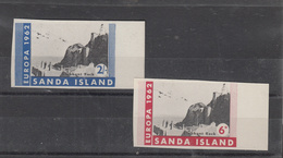 Sanda Europa 1962 Imperf. - Unmounted Mint - Local Issues