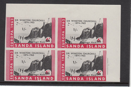 Sanda Europa 1962 Imperf 6d Block4. - Unmounted Mint - Local Issues