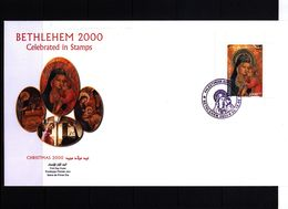 Palestine 2000 Michel Block 17  FDC - Palestine