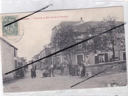 Louesme (21) Vue Prise Au Midi , Route De Montigny- Maréchal Ferrant Occupé à Ferrer Un Cheval. - Sin Clasificación