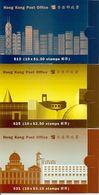 HONGKONG, Booklet 40/42 1996, Definitives, Queen - Hong Kong (...-1997)