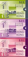 HONGKONG, Booklet 43/45 1997, Definitives Without Queen - 1997-... Région Administrative Chinoise