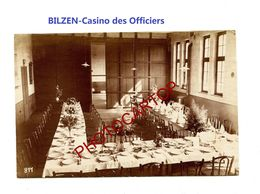 BILZEN-Casino Des Officiers-PHOTO Mate Allemande-Cliche 811-Inf. Regt.182-GUERRE 14-18-1 WK-Militaria-Belgien- - Bilzen