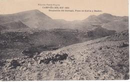 POSTAL DE LA CAMPAÑA DEL RIF DEL AÑO 1921 - OCUPACION DE GURUGU - PICOS DE KOL'LA Y BASBEL (MARRUECOS) HAUSER Y MENET - Otras Guerras