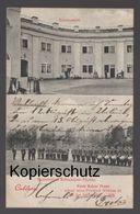 ALTE POSTKARTE COBLENZ KASERNEMENT EXERZIERPLATZ BUBENHEIMER FLESCHE Koblenz Bubenheim Militär Musik Postcard Cpa AK - Koblenz