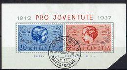 Schweiz 1937 // Michel 318/319 O (16.011) - Gebraucht