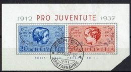 Schweiz 1937 // Michel 318/319 O (16.011) - Oblitérés