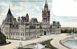 Antique 1900-1905 Postcard - Ottawa Canada - Dominion Parliament - Undivided Back - By: M.I. Co. No. 122 - 2 Scans - Ottawa
