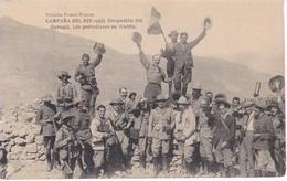 POSTAL DE LA CAMPAÑA DEL RIF DEL AÑO 1921 - OCUPACION DE GURUGU - LOS PERIODISTAS EN HARDU (MARRUECOS) HAUSER Y MENET - Otras Guerras