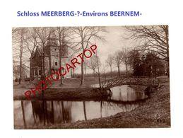 Schloss MEERBERG-BEERNEM-PHOTO Mate Allemande-Cliche 642-Inf. Regt.182-GUERRE 14-18-1 WK-Militaria-Belgien- - Beernem