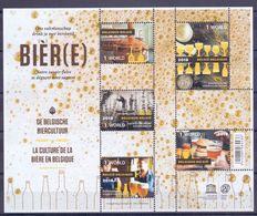 Belgie - 2018 - OBP - ** De Belgische Biercultuur - 1 World ** Niet Genormaliseerd - Belgique