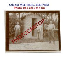 Tennis-Schloss MEERBERG-BEERNEM-Sport-PHOTO Allemande-Inf. Regt.182-GUERRE 14-18-1 WK-Militaria-Belgien- - Beernem