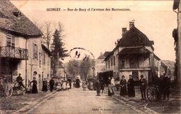 Doubs - Quingey - Rue De Busy Et L'Avenue Des Marronniers - France