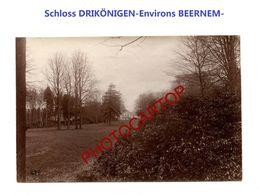 Schloss DREIKÖNIGE-Env. BEERNEM-PHOTO Mate Allemande-Cliche 639-Inf. Regt.182-GUERRE 14-18-1 WK-Militaria-Belgien- - Beernem