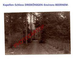 Kapelle-Chapelle-Schloss DREIKÖNIGE-Env. BEERNEM-PHOTO Mate All.-Cliche 609-Inf. Regt.182-GUERRE 14-18-1 WK-Militaria-Be - Beernem