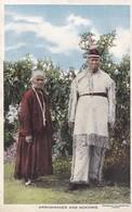 Postcard Arrowmaker And Nokomis Native American Interest Chicago Area ? My Ref  B11810 - Native Americans
