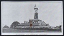 1906  --  LE PREMIER COLOMBIER MILITAIRE DE HANOI  INDOCHINE   3N586  Pigeons Pigeon Militaire - Vieux Papiers