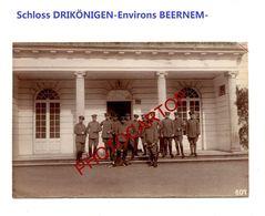 Schloss DREIKÖNIGE-Env. BEERNEM-PHOTO Mate Allemande-Cliche 607-Inf. Regt.182-GUERRE 14-18-1 WK-Militaria-Belgien- - Beernem