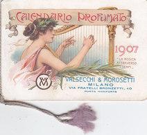 MILANO 1907 - Calendario Pubblicitario /  VALMOR - SAPONE _ VALSECCHI & MOROSETTI - Formato Piccolo : 1901-20