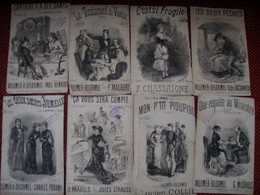 DONJEAN LOT 4 / 8 PARTITIONS - Partitions Musicales Anciennes
