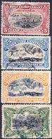 2017-0152 État Indépendant Du Congo 1894-1900 Lot Mi 16, 17, 20, 28 Used O - 1894-1923 Mols: Gebraucht