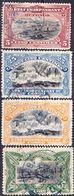 2017-0152 État Indépendant Du Congo 1894-1900 Lot Mi 16, 17, 20, 28 Used O - Belgisch-Kongo