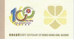 HONGKONG, Booklet 101, 2016, Girl Guides - 1997-... Région Administrative Chinoise